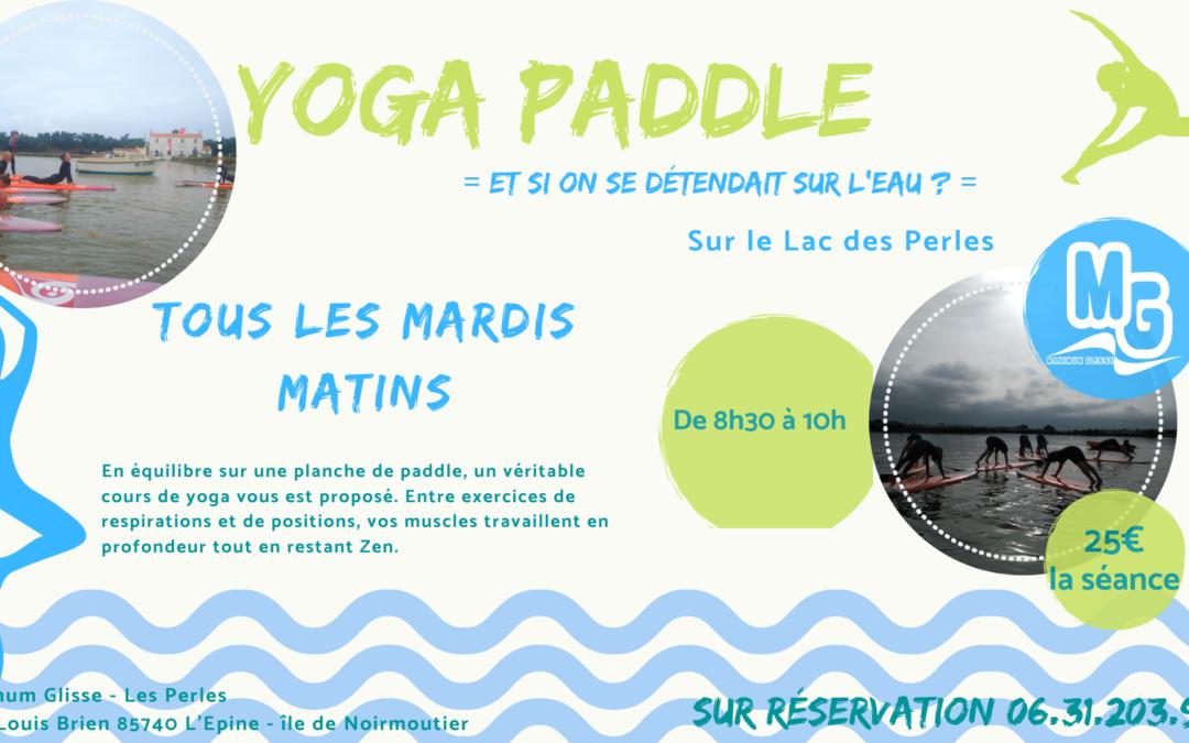 Le yoga paddle